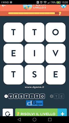 WordBrain 2 soluzioni: Categoria Festa (3X3) Livello 5
