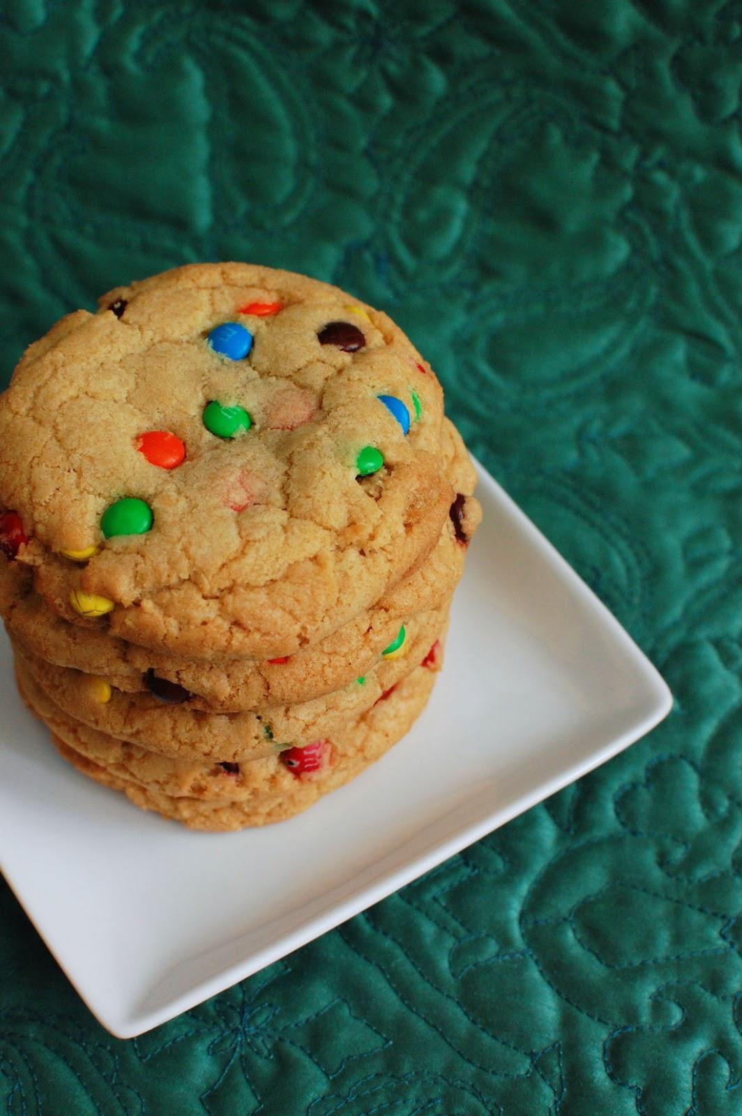 Giant M Amp M Cookies Beantown Baker