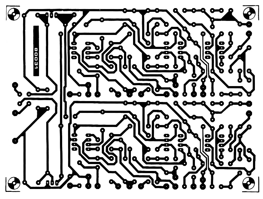 Riaa Preamplifier Ca3410 Preamplifier Audiocircuit Circuit