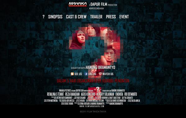 """Hanung Bramantyo menjawab kontroversi soal filmnya """"?"""""""
