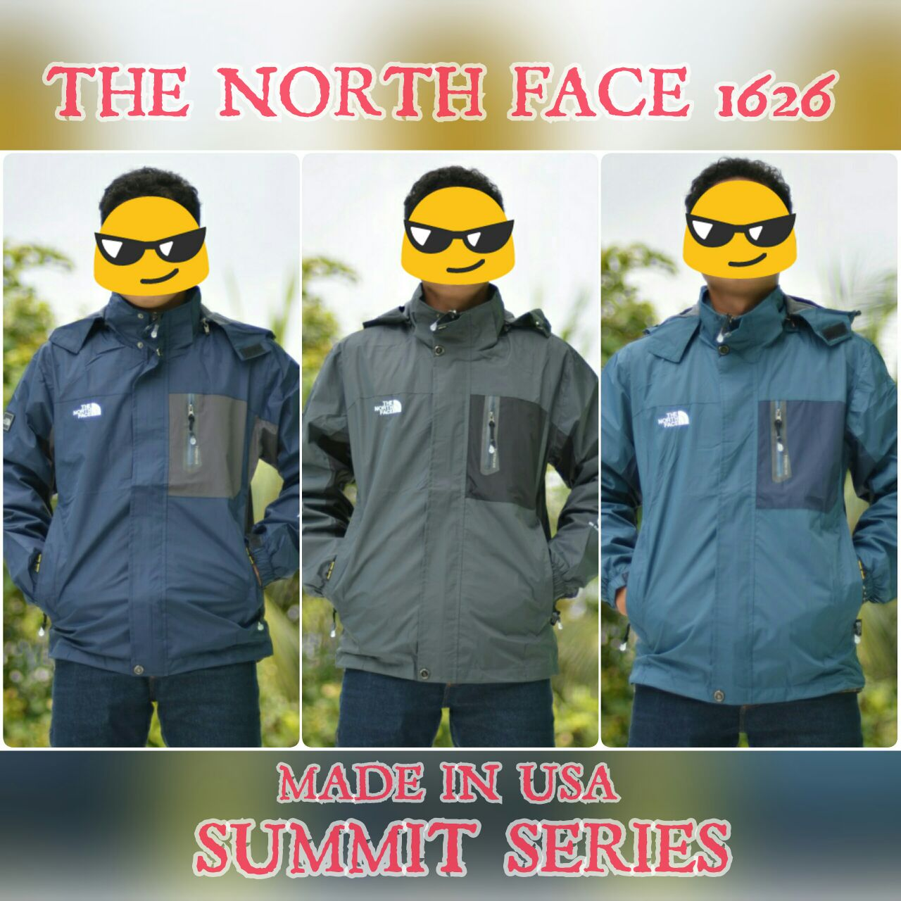 the north face 1626 summit series waterproof promo jual jaket gunung import xrock store. Black Bedroom Furniture Sets. Home Design Ideas