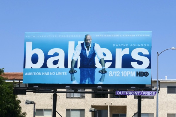 Ballers season 4 HBO billboard