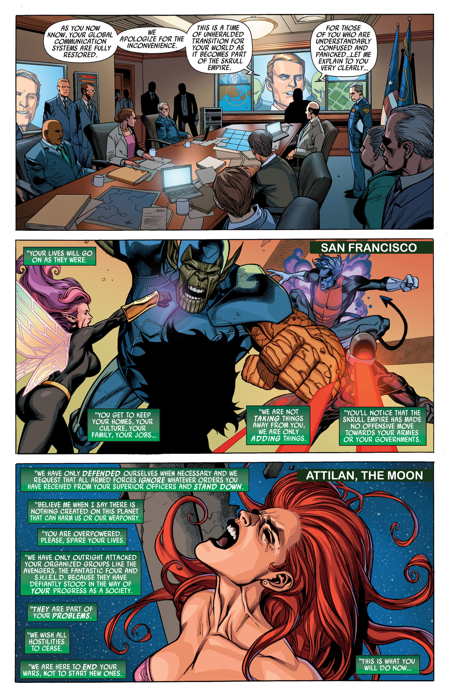 Read online Secret Invasion comic -  Issue #6 - 5