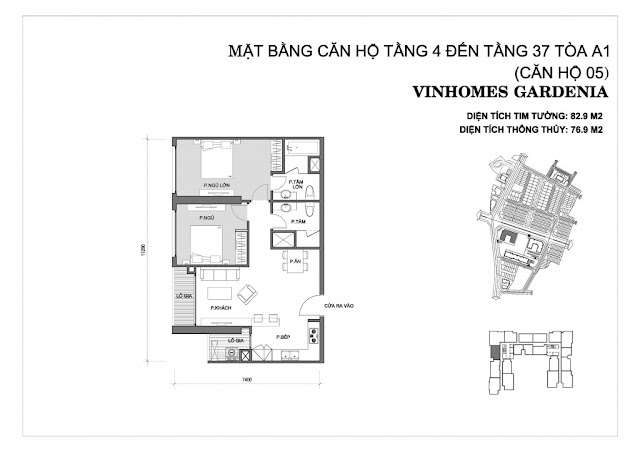 05 - Tòa A1 Vinhomes Gardenia