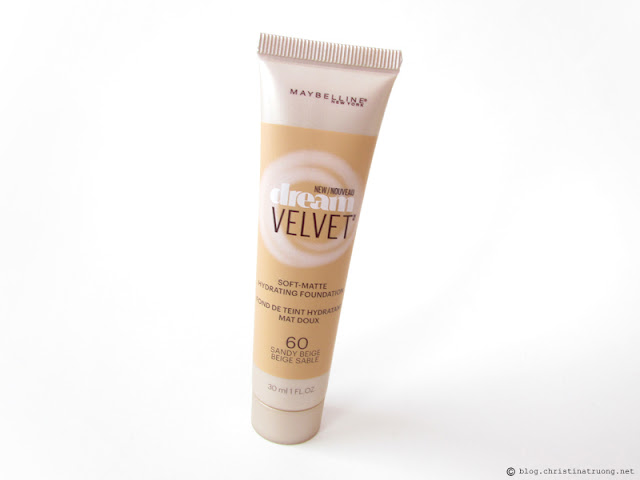 Maybelline Dream Velvet Soft-Matte Hydrating Foundation Review 60 Sandy Beige