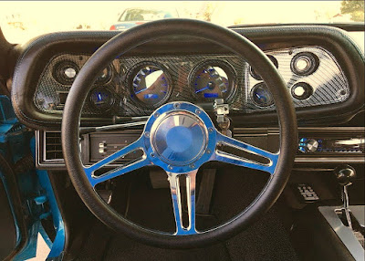 1970 Chevrolet Camaro RS SS 350 LT-1 Steering Wheel Interior
