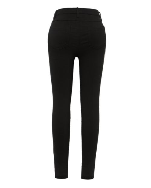 Classic Black Skinny Jeans