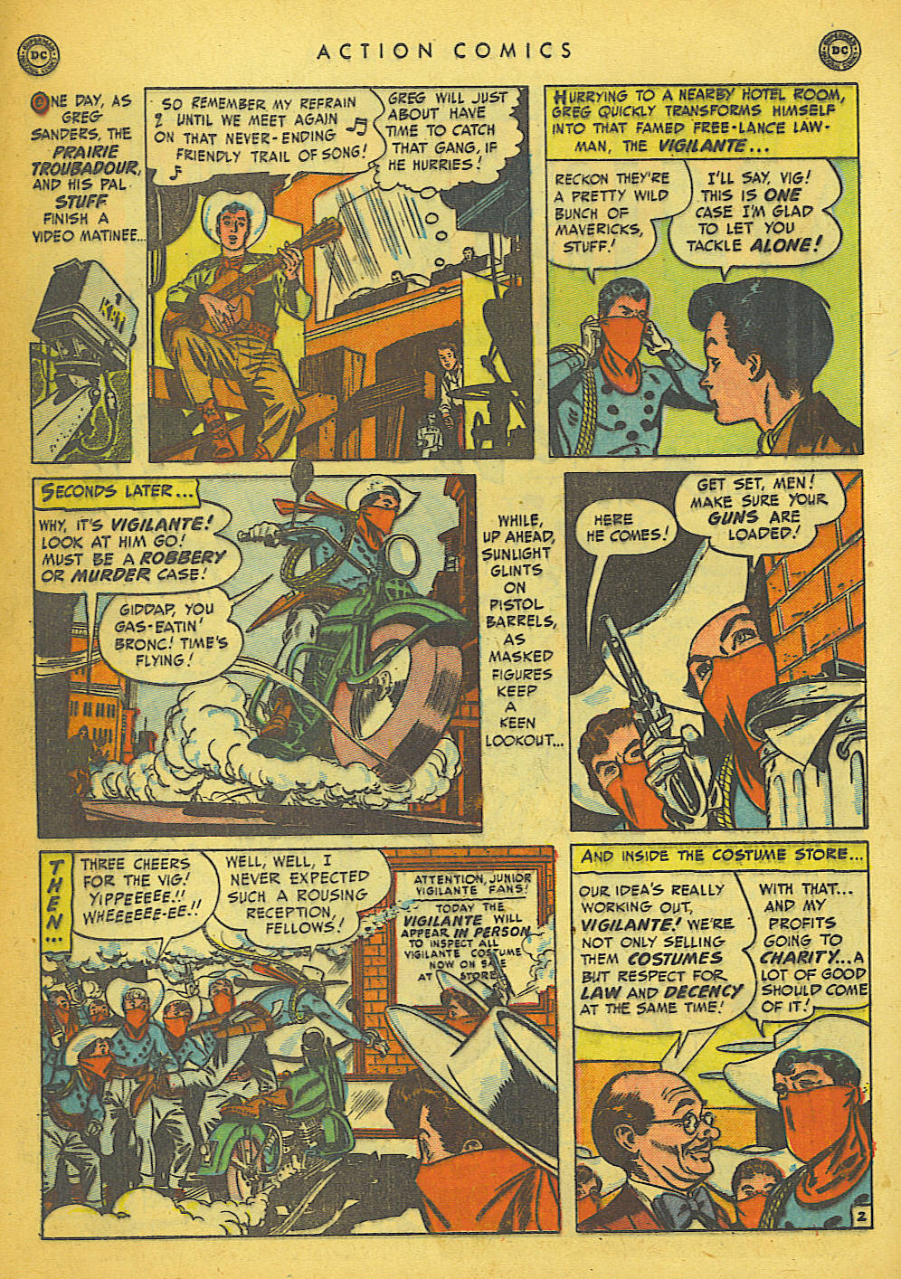 Read online Action Comics (1938) comic -  Issue #149 - 32