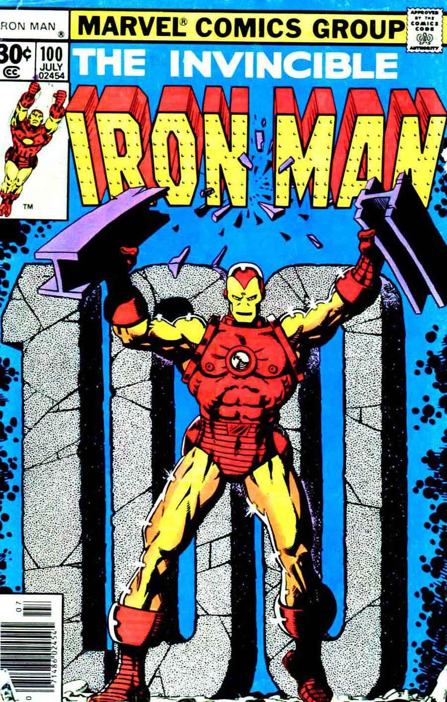 Comic Book Cover Artist Jobs ~ Iron man jim starlin cover pencil ink