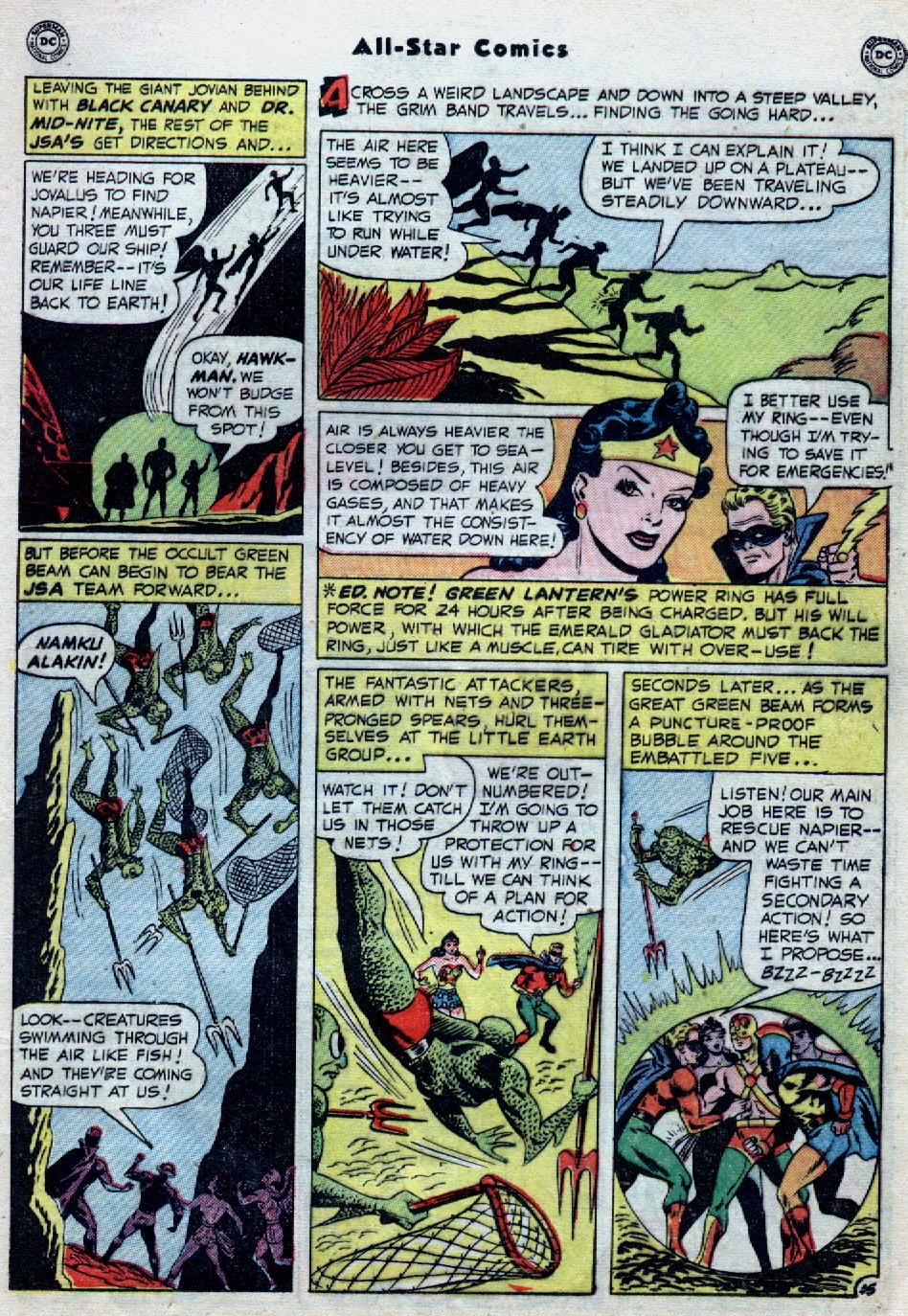 Read online All-Star Comics comic -  Issue #55 - 19