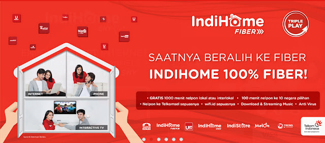 Paket internet Indihome 2019