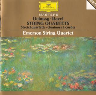 Claude Debussy, Maurice Ravel, String Quartets, Emerson String Quartet, Deutsche Grammophon