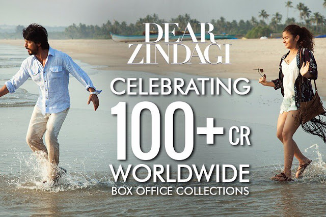 Dear Zindagi crosses 100cr Worldwide