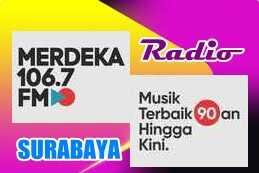 Radio Merdeka 106.7 FM Surabaya