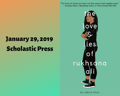 The Love & Lies of Rukhsana Ali, Sabina Khan, InToriLex