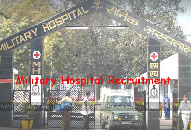 Military Hospital Recruitment