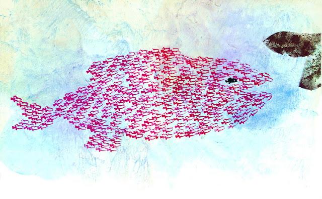 guizzino e il grande pesce