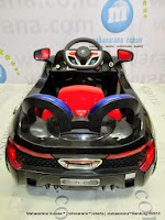 pojok pliko pk9188n maclaren black mobil mainan anak