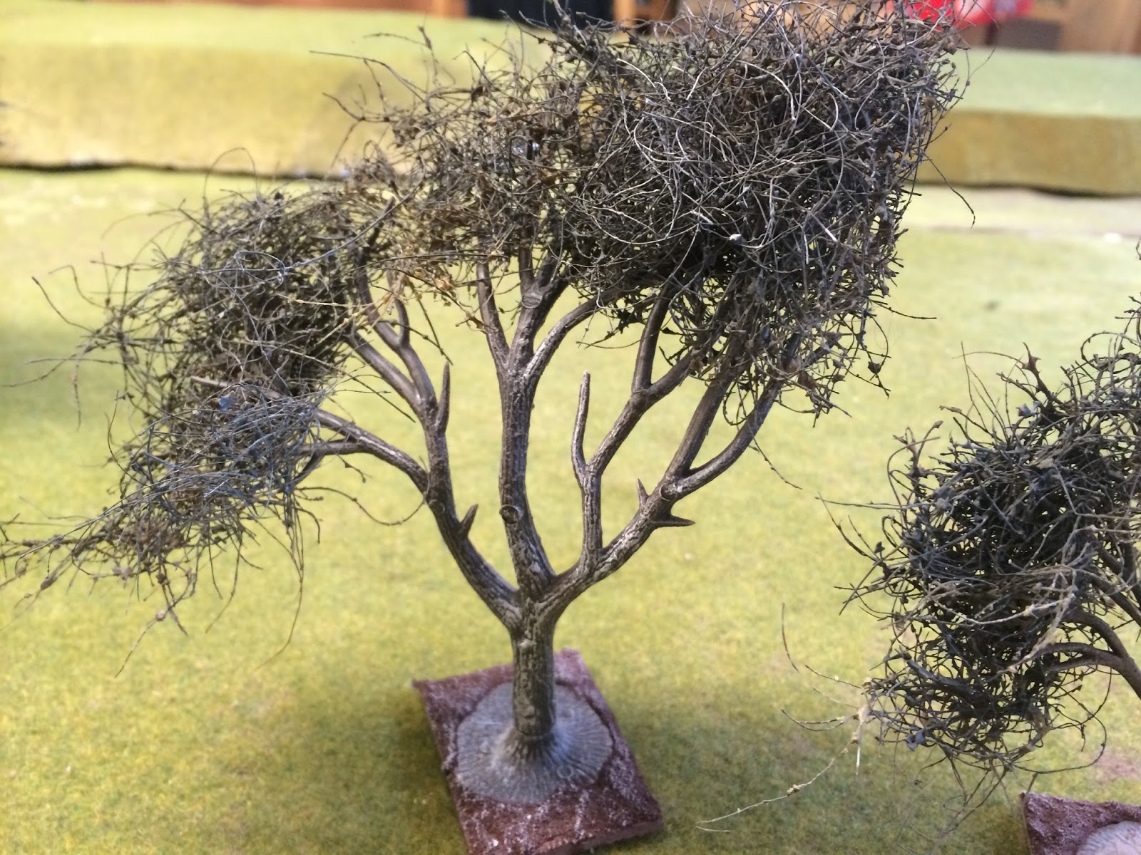 Cirencester wargames: How to make 28mm olive trees