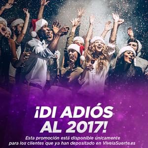 vivelasuerte despide 2017 con 100 euros de bono 28-30 diciembre