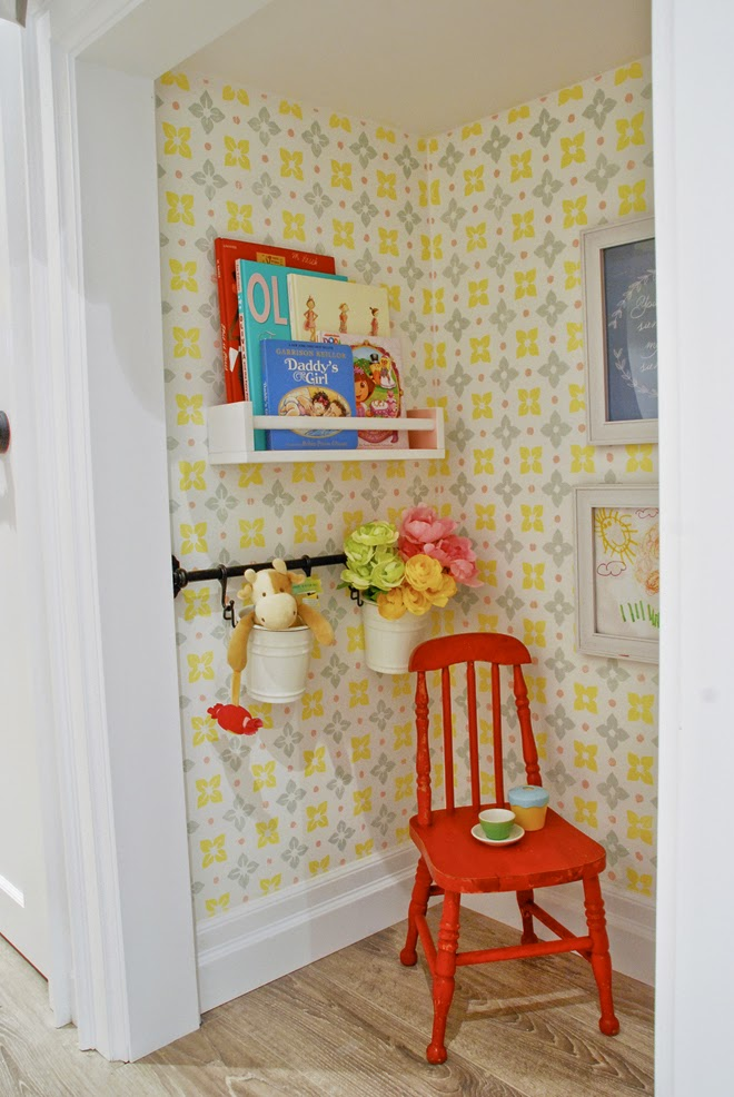 Rambling Renovators | playhouse under the stairs