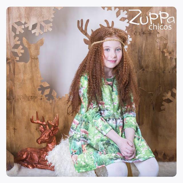 Moda en vestidos para niñas invierno 2017