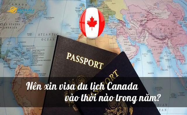 Nên xin visa du lịch Canada vào thời nào trong năm?