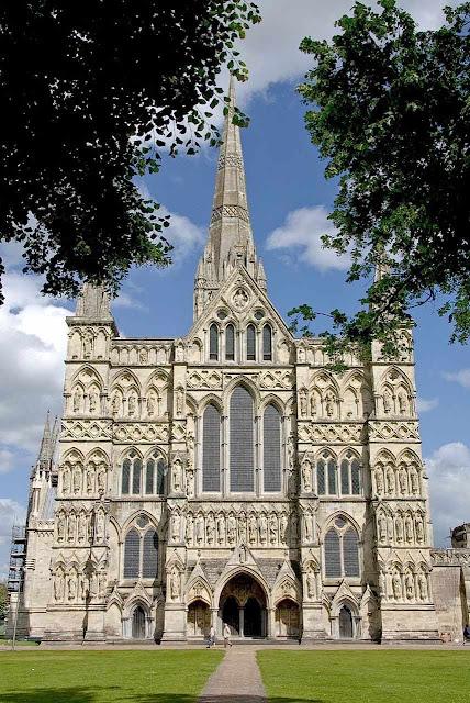 Catedral de Salisbury, Inglaterra
