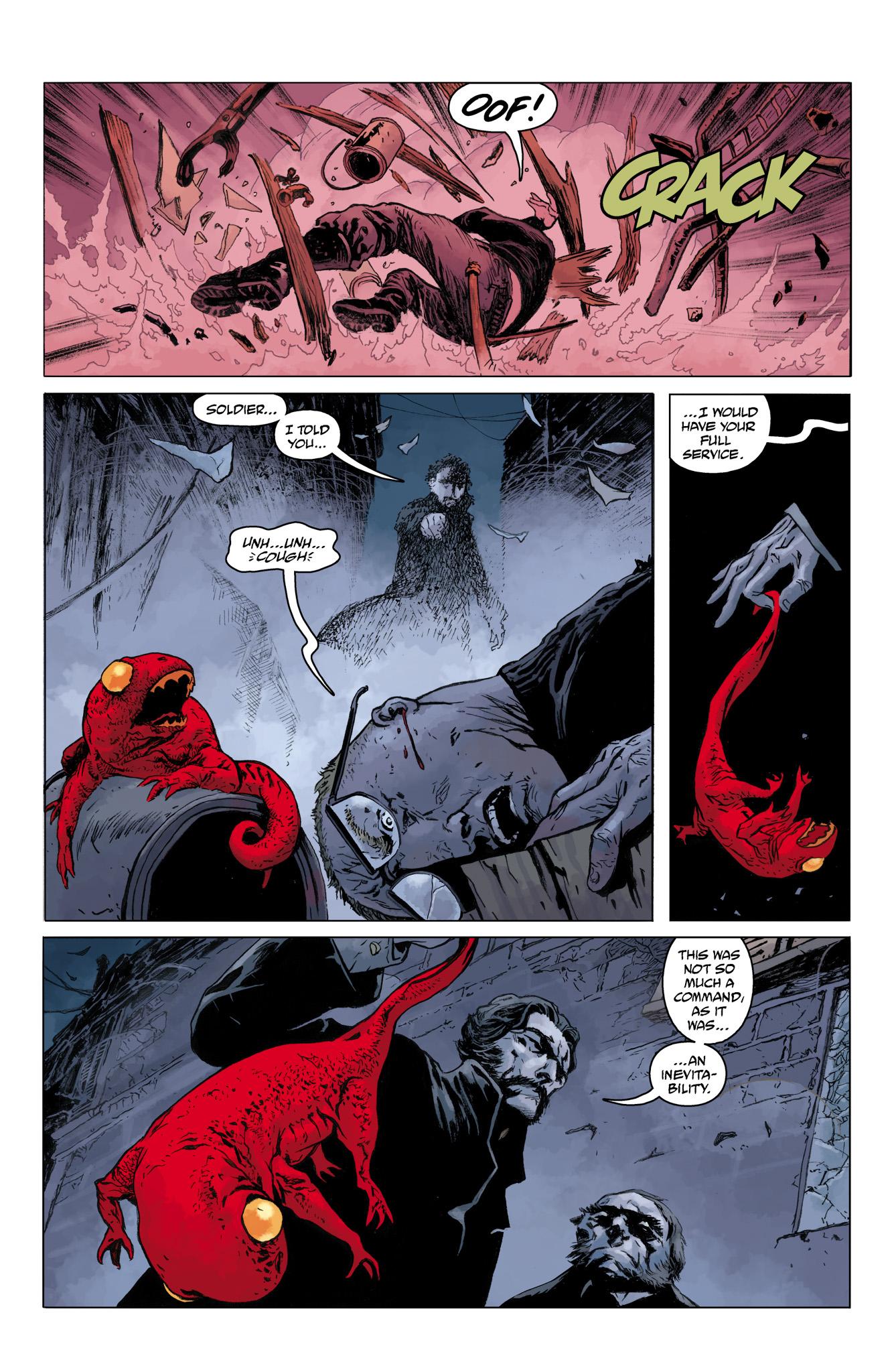 Read online Abe Sapien comic -  Issue #10 - 10
