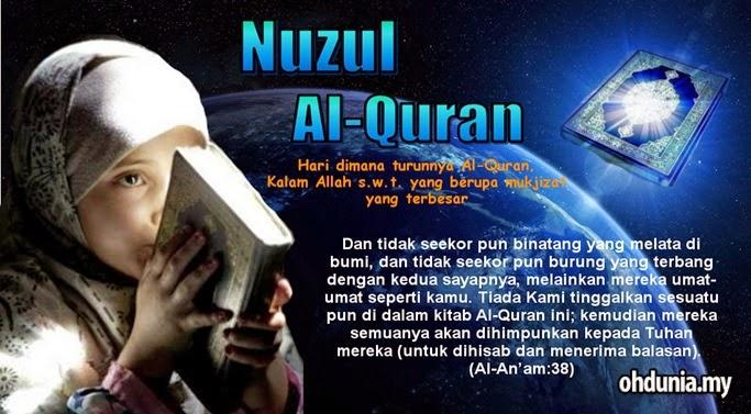 NUZUL Al-Quran: Tarikh peristiwa turunnya kitab Allah yang terakhir