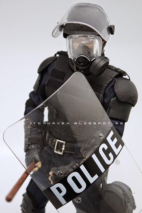 "GI JOE Police Riot HELMET 1//6 SCALE FOR 12/"" ACTION FIGURES"