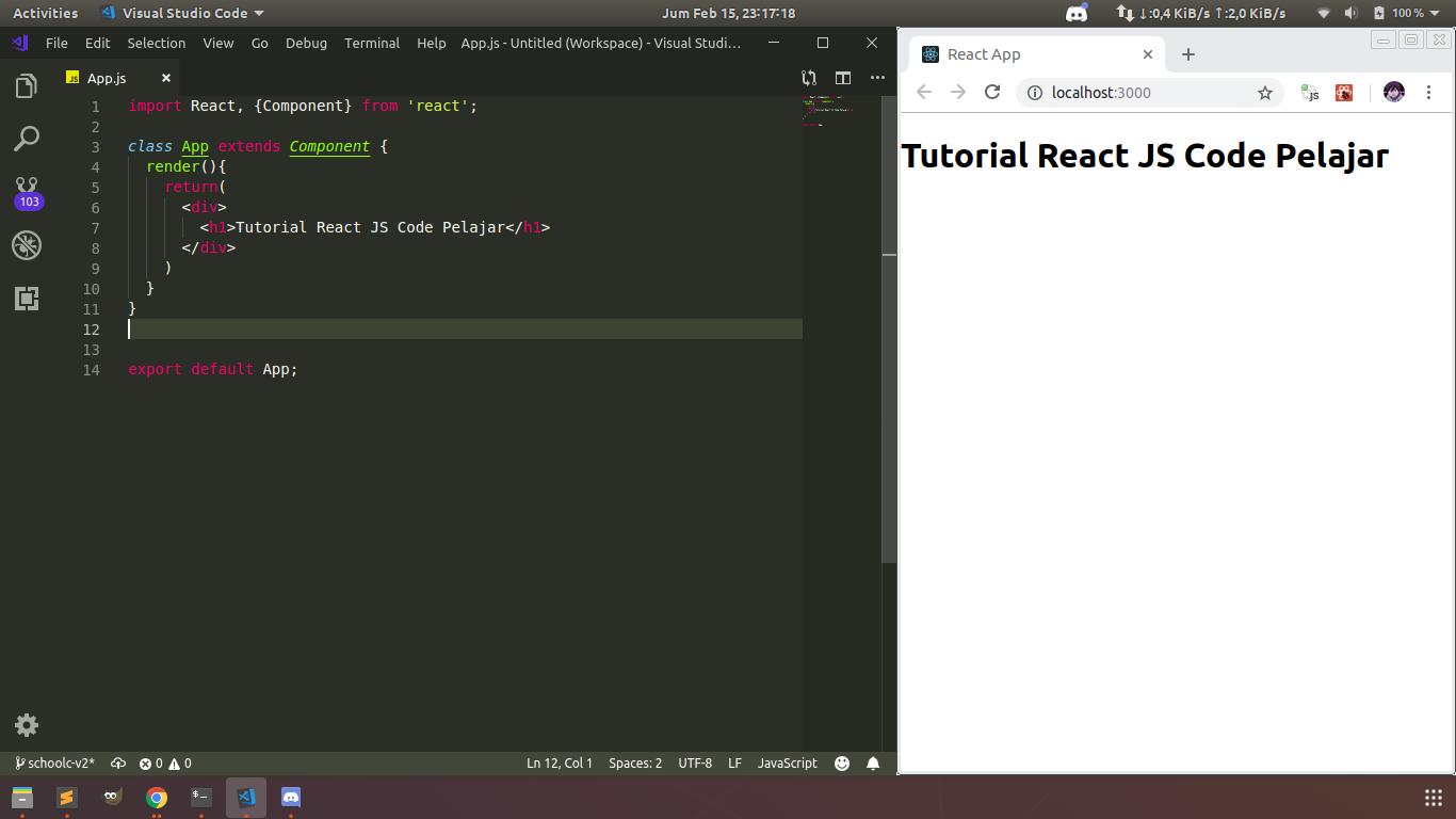 Belajar React Javascript