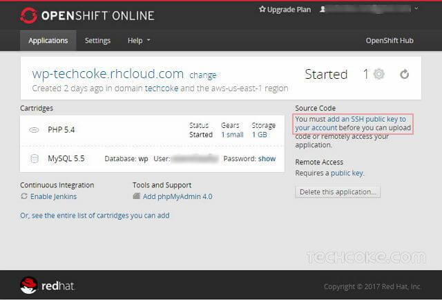 OpenShift 使用 FTP 連線,透過 FileZilla SFTP 管理檔案_204