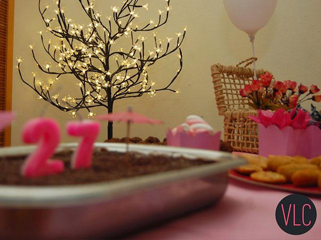 decoração barata de aniversário