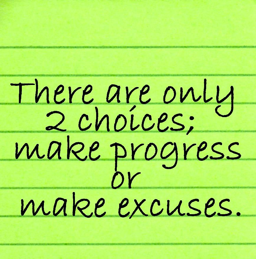 Make Change No Excuses