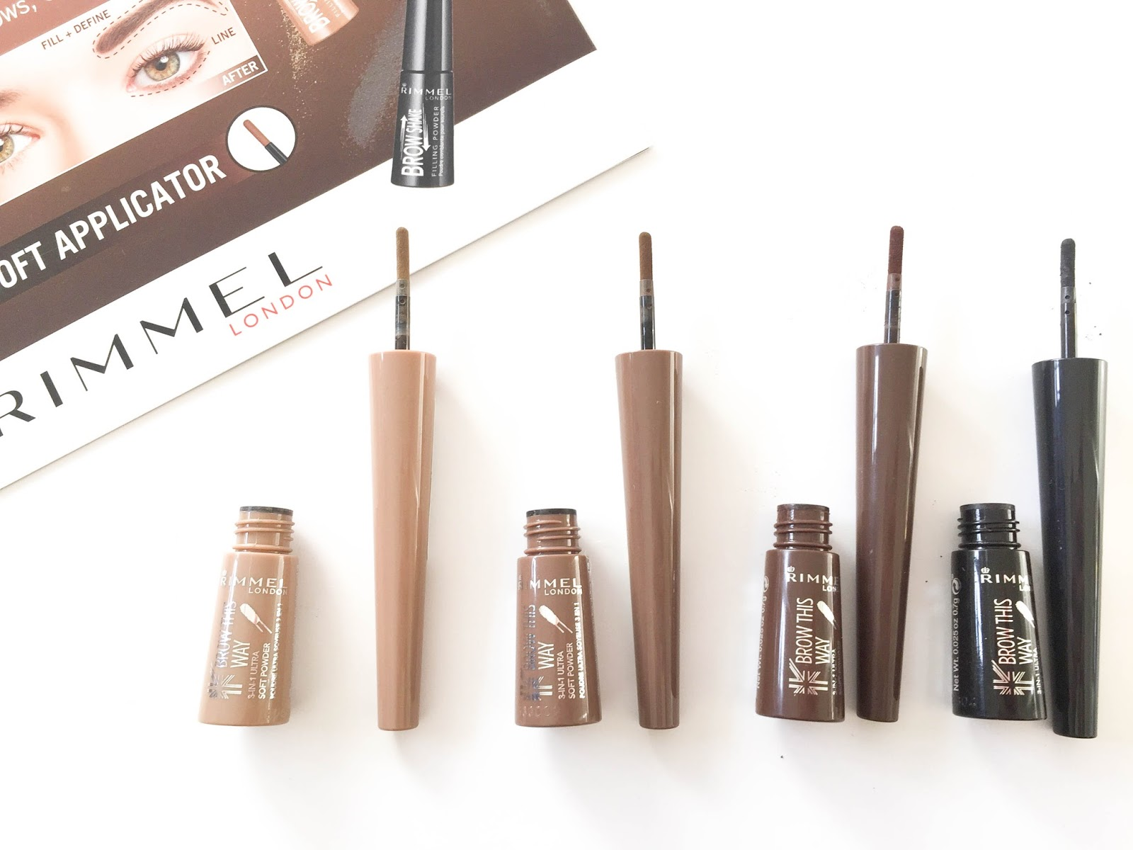 Rimmel London Brow This Way Shake Filling Powder