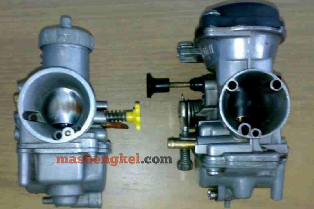 perbedaan karburator vakum vs karburator skep (konvesional)