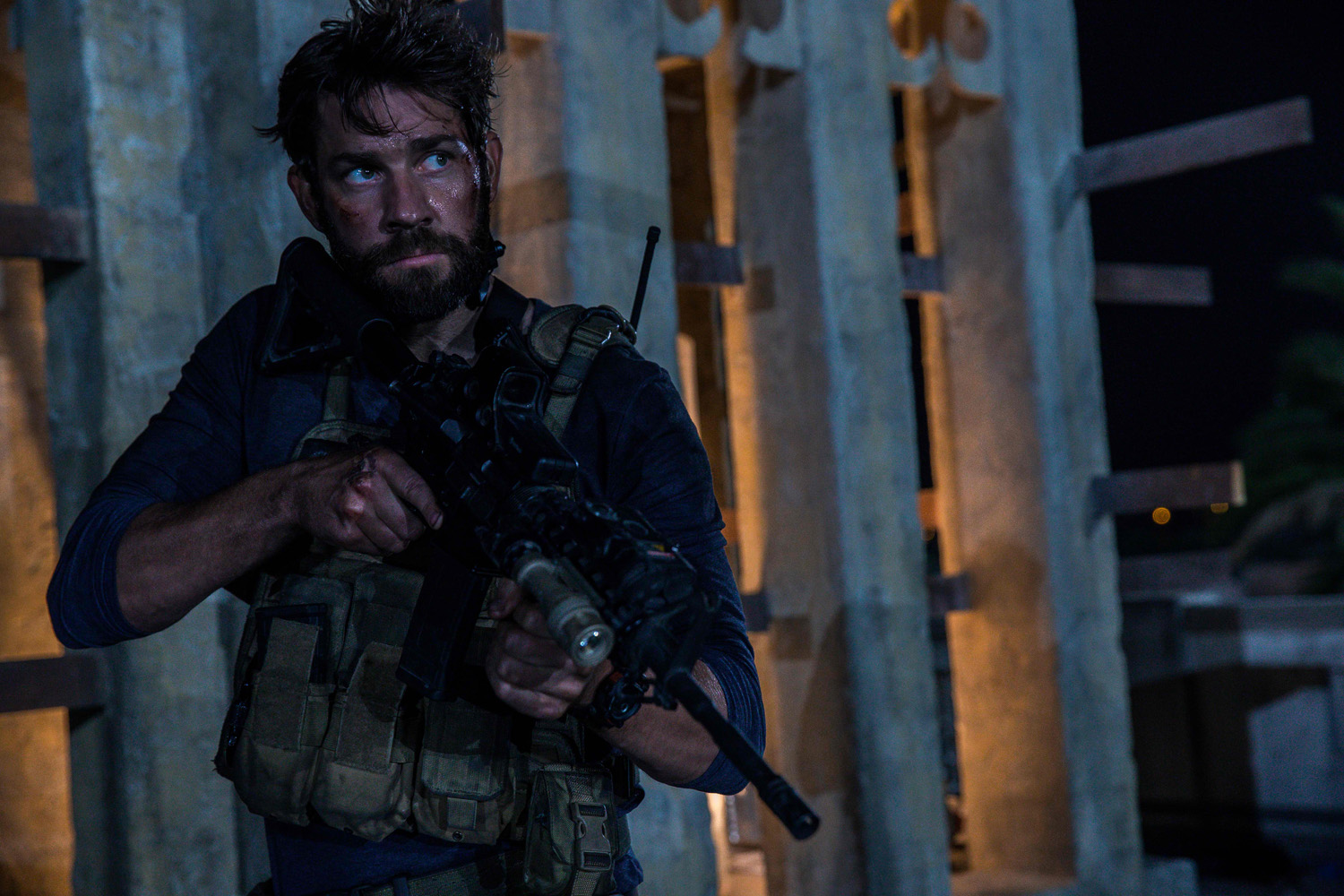 His First Action Role John Krasinski Trains Hard For 13 Hours Bettina Heels Bernyce Black Hitam 39 From Director Michael Bay The Secret Soldiers Of Benghazi Is Gripping True Story Six Elite Ex Military Operators Assigned To Protect