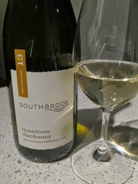 Wine Review of 2013 Southbrook Transitions Chardonnay from VQA Niagara Peninsula, Ontario, Canada