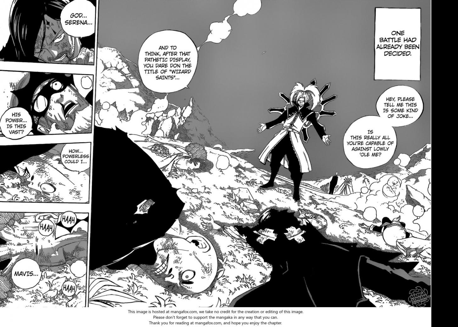 Fairy Tail Ch.469: What I Want to do