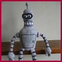 Bender amigurumi