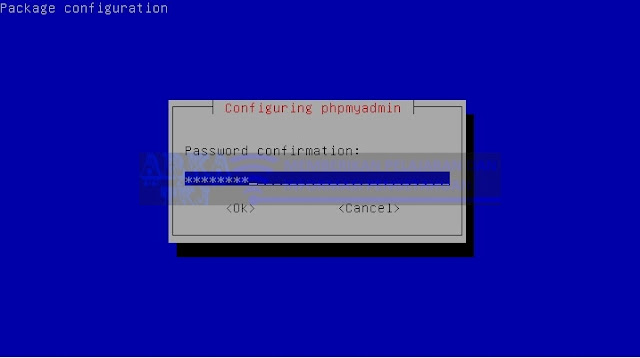 Password PhpMyAdmin di MySQL