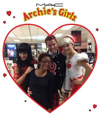 M.A.C Archie's Girls Launch - www.modenmakeup.com