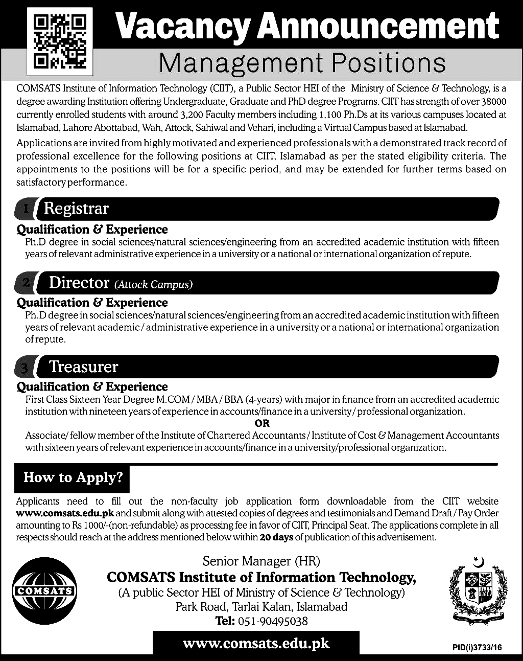 Daily jobs updates latest government jobs advertisement 2017 falaconquin