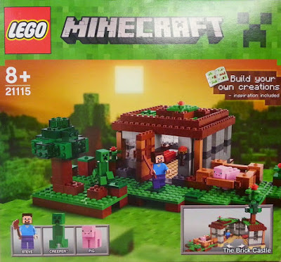 LEGO Minecraft Giveaway - Set 21115 - The First Night