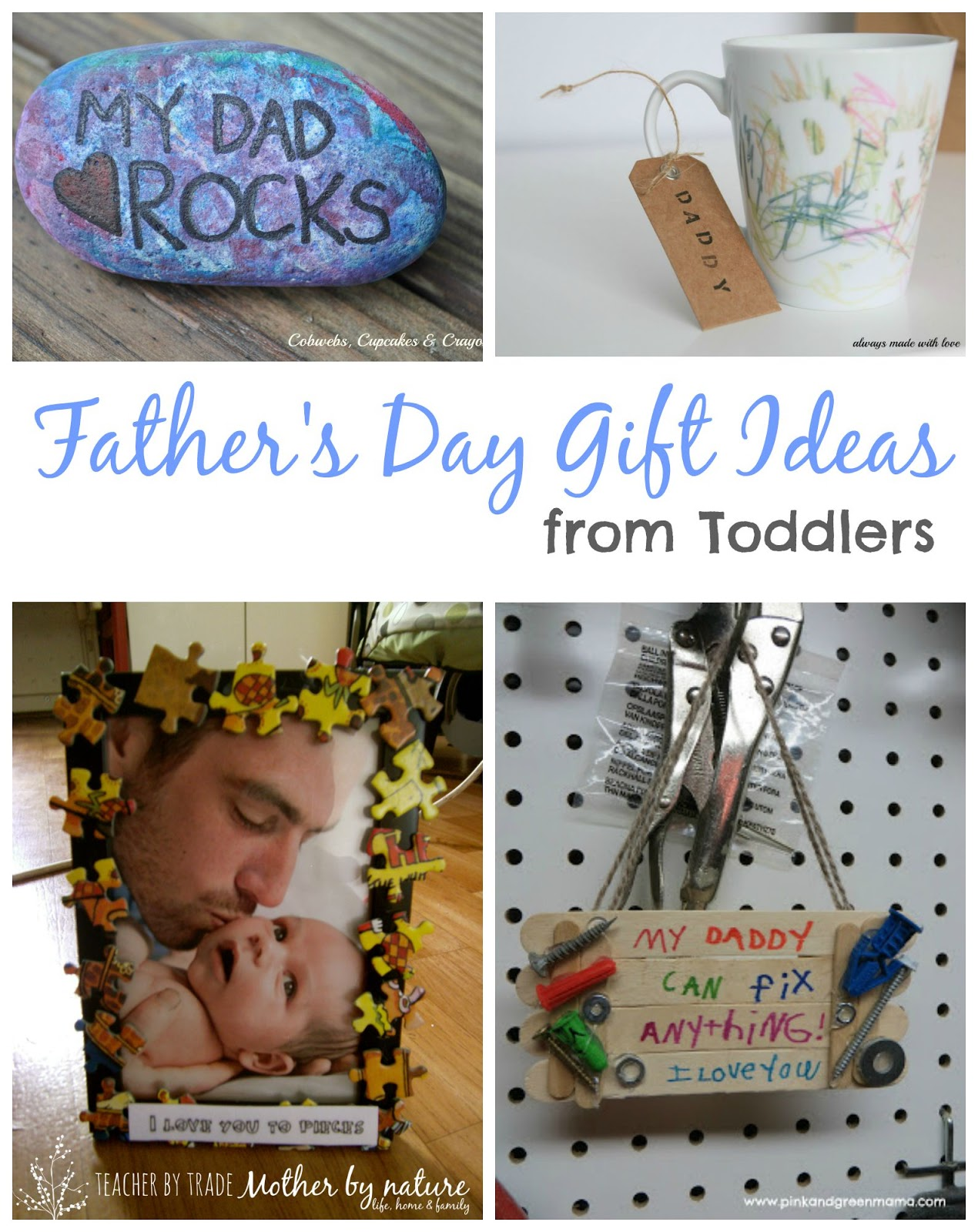 Father S Day T Ideas From Toddlers