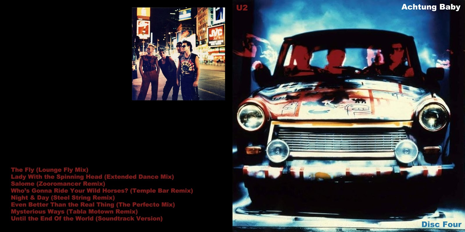 All The Air In My Lungs  U2 - Achtung Baby