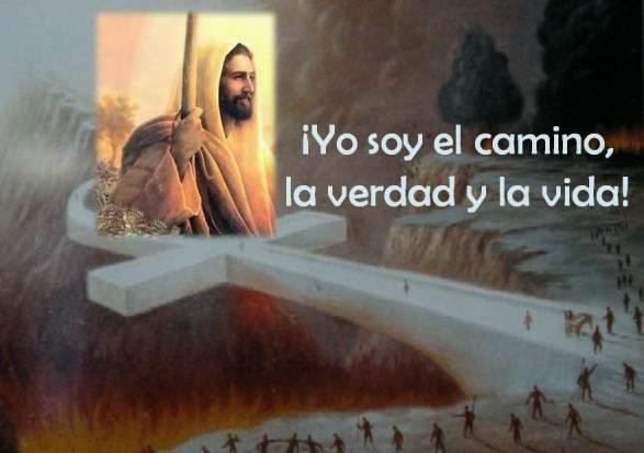 Resultado de imagen para frase con imagen jesus yo soy el camino