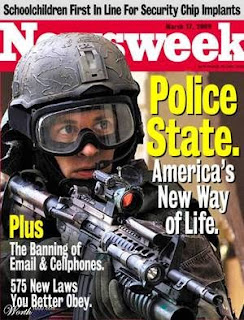 """""""Police State: America's New Way of Life,"""" Newsweek, March 17, 2009"""