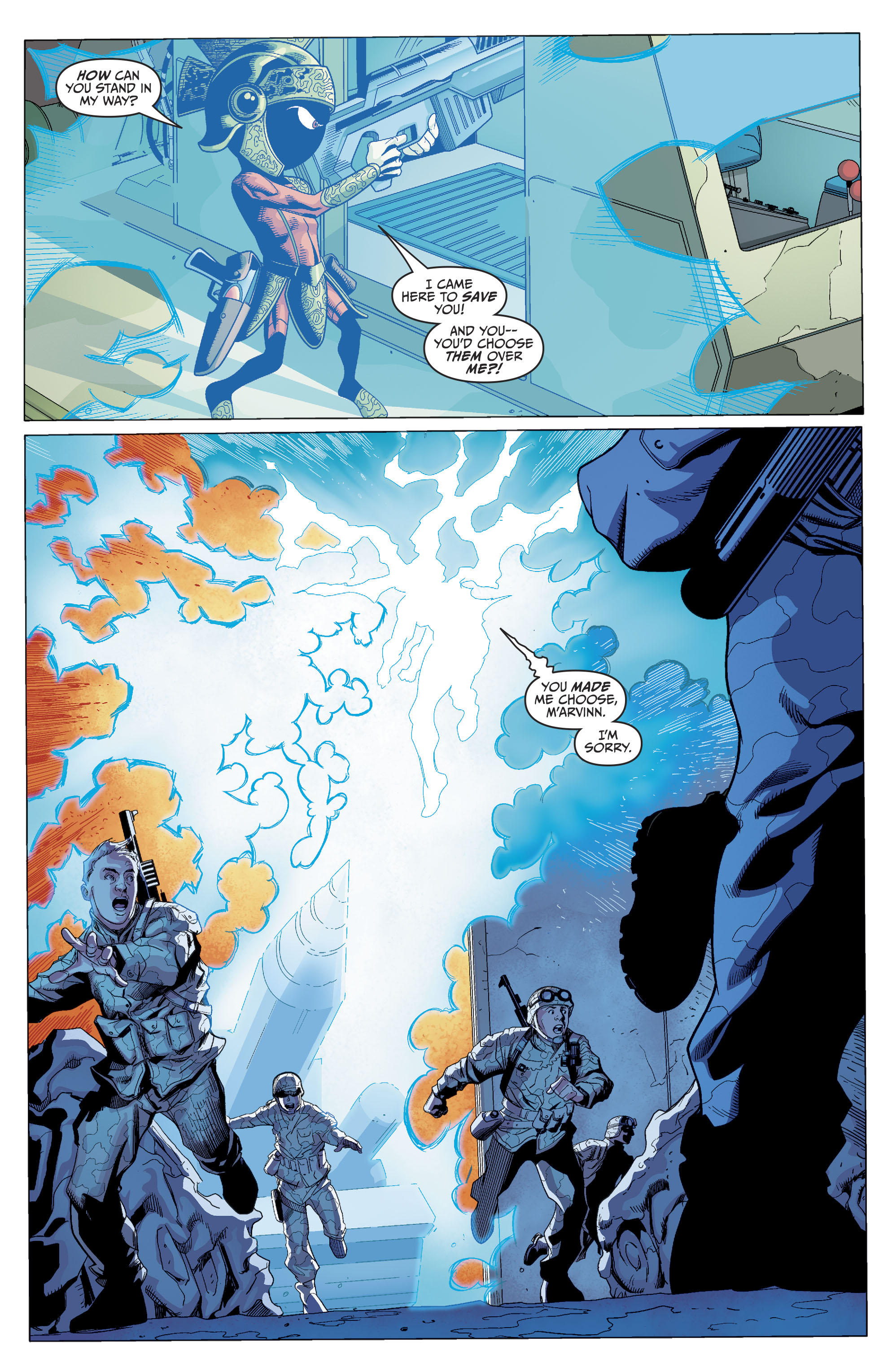 Read online Martian Manhunter/Marvin the Martian Special comic -  Issue # Full - 30